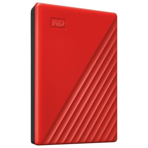 WD My Passport 2 To Rouge (USB 3.0) - WDBYVG0020BRD-WESN