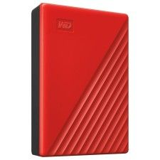 WD My Passport 4 To Rouge (USB 3.0) - WDBPKJ0040BRD-WESN