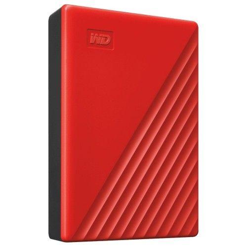 WD My Passport 4 To Rouge (USB 3.0) - WDBPKJ0040BRD-WESN