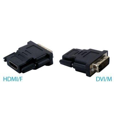 Adaptateur HDMI FEMELLE 19 pins vers DVI D MALE 24+1
