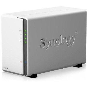 SYNOLOGY DS220j Boîtier NAS pour 2 DD 3.5/2.5p 1.4GHz Quado LAN GbE USB3