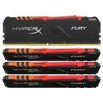 HyperX Fury RGB 32 Go (4x8Go) DDR4 3600 MHz CL17
