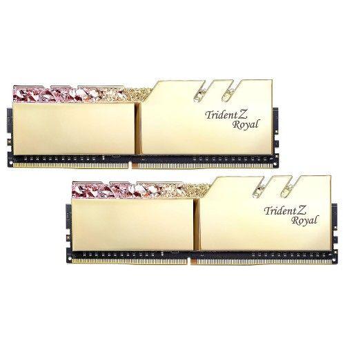 G.Skill Trident Z Royal 64 Go (2x32Go) DDR4 2666 MHz CL18 - Or