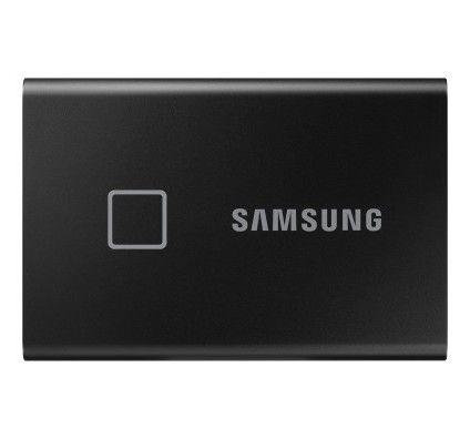 Samsung Portable SSD T7 Touch 500 Go Noir