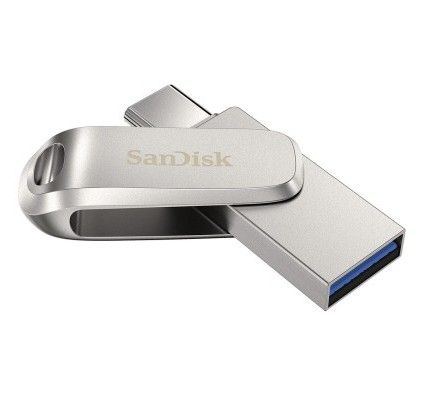 SanDisk Ultra Dual Drive Luxe USB-C 128 Go