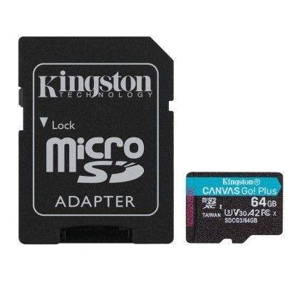 Kingston Canvas Go! Plus SDCG3/64GB