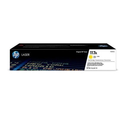 HP Laser 117A Jaune (W2072A)