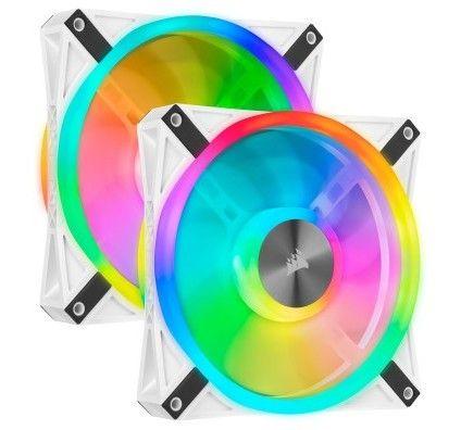 Corsair QL Series QL140 RGB (Par 2) blanc