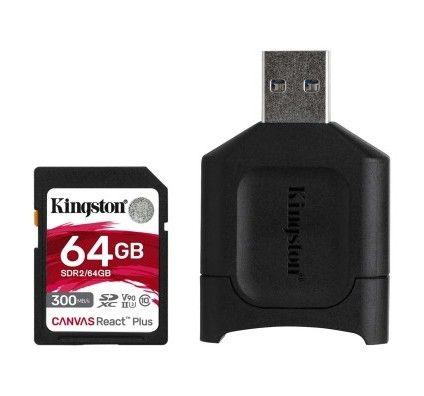 Kingston Canvas React Plus SDCR2/64GB - MLPR2/64GB
