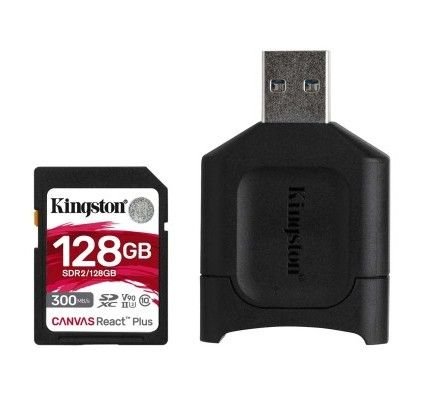 Kingston Canvas React Plus SDCR2/128GB - MLPR2/128GB