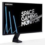 "Samsung 31.5"" LED - Space Monitor S32R750Q"