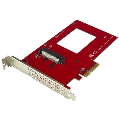StarTech.com Carte contrôleur U.2 vers PCIe pour SSD U.2 NVMe - SFF-8639 - PCI Express 3.0 x4