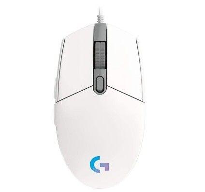 Logitech G203 LightSync Blanc
