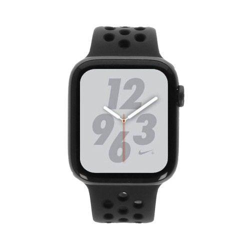 Apple Watch Series 4 Nike+ - boîtier en aluminium gris 44mm - bracelet sport noir/anthracite (GPS)