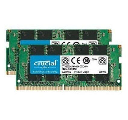 Crucial SO-DIMM DDR4 64 Go (2x32Go) 3200 MHz CL22 DR X8