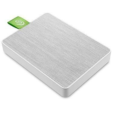 Seagate Ultra Touch SSD 500 Go Blanc