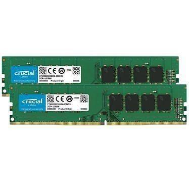 Crucial DDR4 16 Go (2x8Go) 2666 MHz CL19