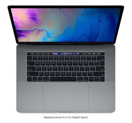 "Macbook Pro 15.4 "" Intel Core i9 2.4Ghz 1024Go SSD 32Go"
