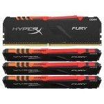 HyperX Fury RGB 128 Go (4x32Go) DDR4 2666 MHz CL16