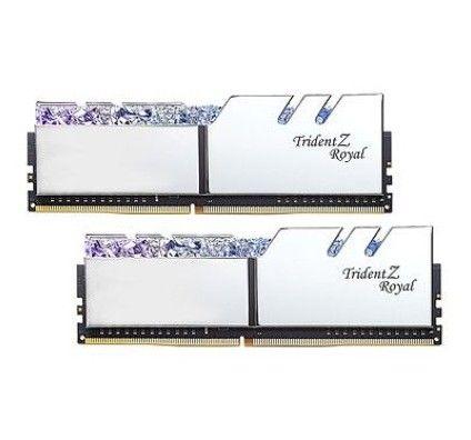G.Skill Trident Z Royal 16 Go (2x8Go) DDR4 4000 MHz CL16 - Argent - F4-4000C16D-16GTRSA