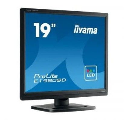 "iiyama 19"" LED - ProLite E1980SD-B1"