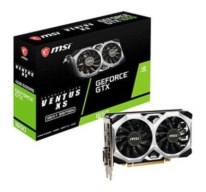 MSI GeForce GTX 1650 D6 VENTUS XS OCV1
