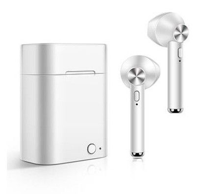AKASHI Écouteurs Stéréo Bluetooth 5.0 Blanc