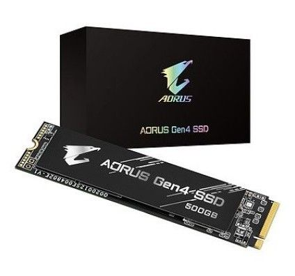 Aorus NVMe Gen4 SSD 500 Go - GP-AG4500G