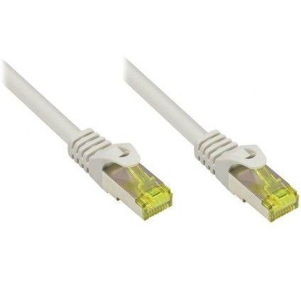 Cable Réseau RJ45 Cat 7 S-FTP 15m (Gris)