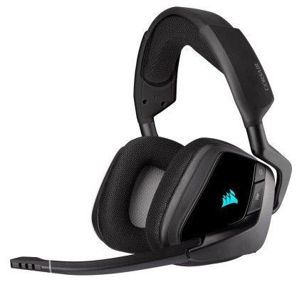 Corsair VOID ELITE RGB Casque Gaming Wireless surround 7.1 - Carbone