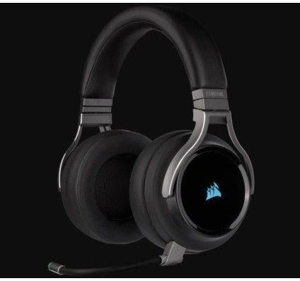 Corsair VIRTUOSO RGB Wireless Casque gaming haute-fidélité – Carbone