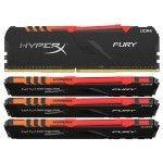 HyperX Fury RGB 64 Go (4x16Go) DDR4 3600 MHz CL18