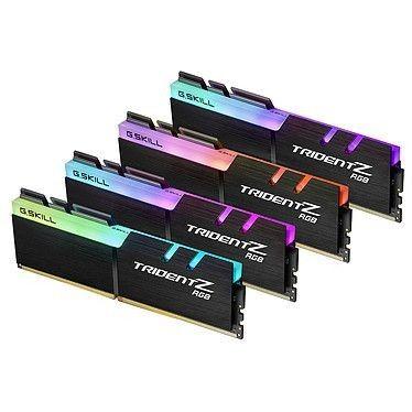 G.Skill Trident Z RGB 128 Go (4x32Go) DDR4 2666 MHz CL19