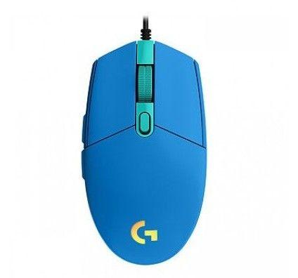 Logitech G203 LightSync Bleu