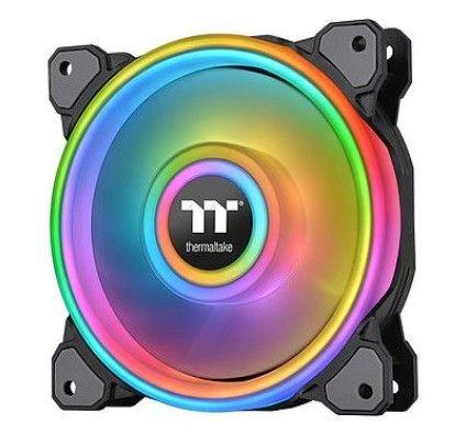 Thermaltake Riing Quad 12 RGB Radiator Fan TT Premium Edition Single Fan Noir