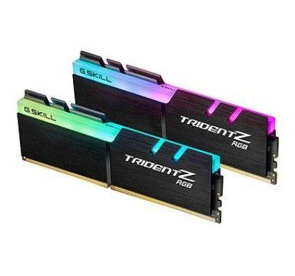 G.Skill Trident Z RGB 32 Go (2x16Go) DDR4 4000 MHz CL16 - F4-4000C16D-32GTZRA