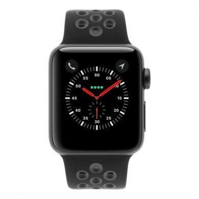 Apple Watch Series 2 Nike+ - boîtier en aluminium gris foncé 38mm - bracelet sport gris/noir