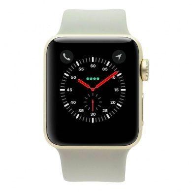 Apple Watch Series 2 - boîtier en aluminium or 38mm - bracelet sport beton