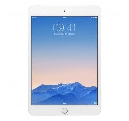 Apple iPad mini 3 WiFi +4G (A1600) 128Go argent
