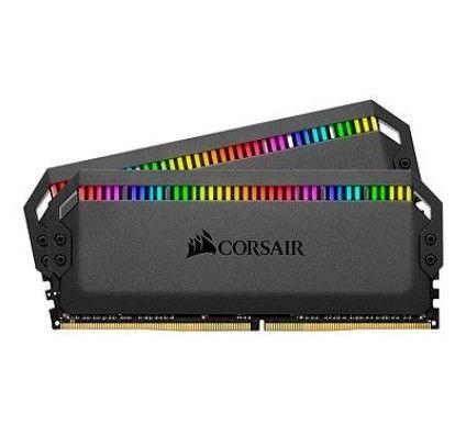 Corsair Dominator Platinum RGB 32 Go (2x16Go) DDR4 3600 MHz CL18 - CMT32GX4M2D3600C18