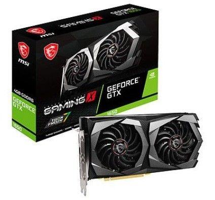 MSI GeForce GTX 1650 D6 GAMING X PLUS