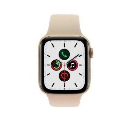 Apple Watch Series 5 - boîtier en aluminium en or 44mm - bracelet sport rose des sables (GPS)