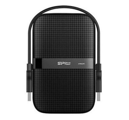 Silicon Power Armor A60 5 To Shockproof Black (USB 3.0)