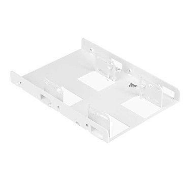 Corsair Support pour 2 SSD 2.5'' dans baie 3.5'' - Blanc