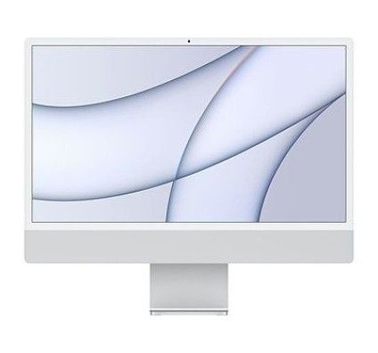 "Apple iMac (2021) 24"" 1 To Argent (MGPD3FN/A-M1-8/8-16GB-1TB-MT2)"