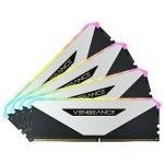 Corsair Vengeance RGB RT 32 Go (4x8Go) DDR4 3600 MHz CL18 - Blanc