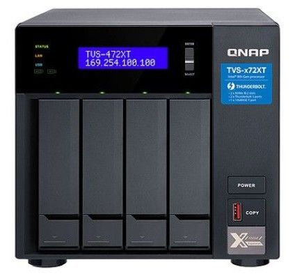 Qnap TVS-472XT-I3-4G