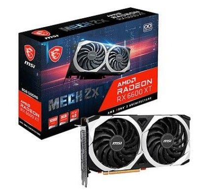 MSI Radeon RX 6600 XT MECH 2X 8G OCV1