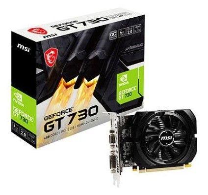 MSI GeForce GT 730 N730K-4GD3/OC