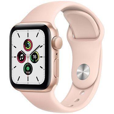Apple Watch SE GPS Gold Aluminium Bracelet Sport Pink Sand 40 mm